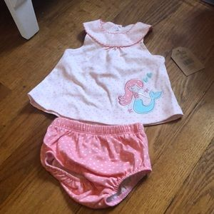 chick pea mermaid top and undie set